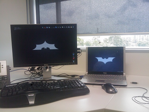 Batman's Desktop