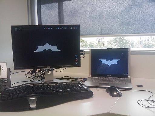 Batman's Desktop
