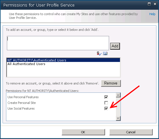 Repairing missing My Site and My Profile links in SharePoint 2010 (4/6)